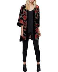 East - Devore Chatsworth Kimono - Lyst