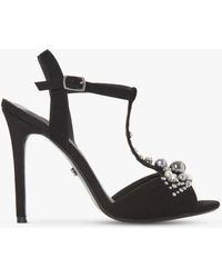 Dune - Mazzure Embellished Stiletto Heel Sandals - Lyst