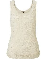 Bruce By Bruce Oldfield - Beaded Top - Lyst