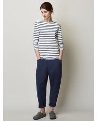 Toast - Breton Stripe Long Sleeve T-shirt - Lyst