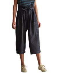 Toast - Gathered Waist Trousers - Lyst