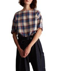 Toast - Madras Check Top - Lyst