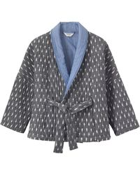 Toast - Ikat Quilted Kimono Jacket - Lyst