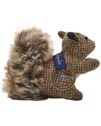 Joules - Tweedle Squirrel Keyring - Lyst
