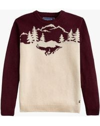 Joules - Christmas Fox Jumper - Lyst