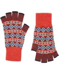 Brora - Cashmere Fingerless Gloves - Lyst