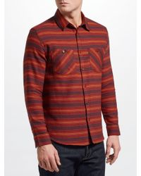 John Lewis - Expedition Stripe Shirt - Lyst