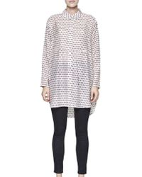 French Connection - Bacongo Dot Oversized Shirt - Lyst
