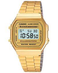G-Shock - A168wg-9ef Unisex Core Bracelet Strap Watch - Lyst