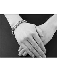 John Lewis - Dyrberg/kern Conian Gold Single Crystal Bracelet - Lyst