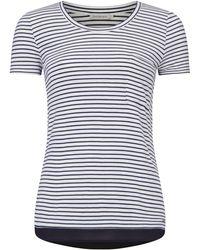 CALVIN KLEIN 205W39NYC - Stripe Pocket T-shirt - Lyst