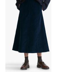 Toast - Needle Cord Skirt - Lyst