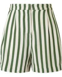 SELECTED - Aliva Stripe Shorts - Lyst