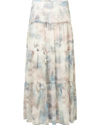 Gerry Weber - Printed Maxi Skirt - Lyst