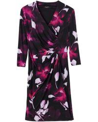 Precis Petite - Aida Jersey Print Dress - Lyst