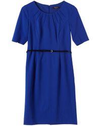 Precis Petite - Katherine Ponte Dress - Lyst
