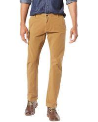 Dockers - Alpha Khaki Smart 360 Flex Slim Tapered Trousers - Lyst
