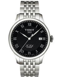 Tissot - T0064071105300 Men's Le Locle Automatic Date Bracelet Strap Watch - Lyst