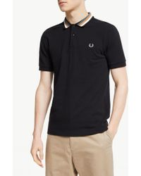 Fred Perry - Bomber Stripe Polo Shirt - Lyst