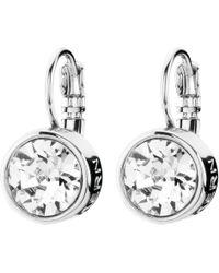 Dyrberg/Kern - Louise Crystal French Hook Drop Earrings - Lyst