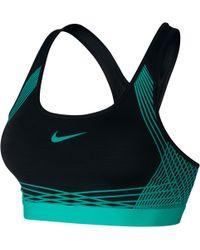 Nike - Pro Hyper Classic Padded Sports Bra - Lyst