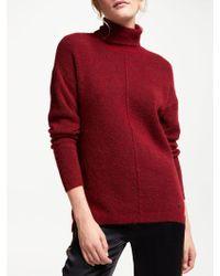 Numph - Melinjo Cotton Roll Neck Pullover Jumper - Lyst