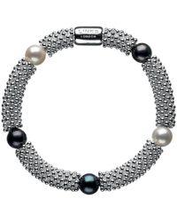 Links of London | Effervescence Star Sterling Silver Pearl Bracelet | Lyst