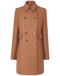 John Lewis - L.k. Bennett Felli Short Military Coat - Lyst