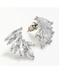 John Lewis - Glass Ear Cuff Earrings - Lyst