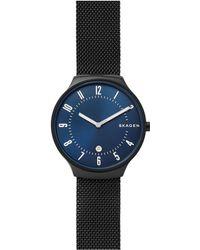 Skagen - Skw6461 Men's Grenen Date Mesh Bracelet Strap Watch - Lyst