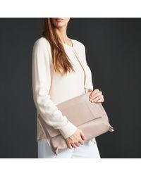Modern Rarity - Ebony Leather Clutch Bag - Lyst