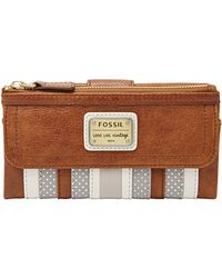 Fossil - Emory Leather Patchwork Purse - Lyst