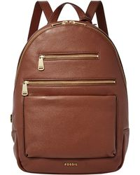 Fossil - Piper Leather Backpack - Lyst