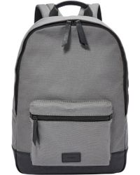 Fossil - Estate Canvas Backpack - Lyst