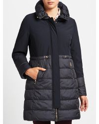 Gerry Weber - Plain Quilted Coat - Lyst