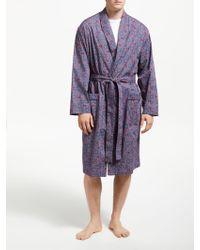 John Lewis Honeycomb Geo Print Robe