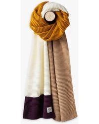 Joules - Annis Textured Scarf - Lyst