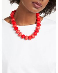 John Lewis - Potato Bead Statement Necklace - Lyst