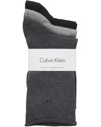 CALVIN KLEIN 205W39NYC - Roll Top Crew Socks - Lyst