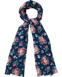 Cath Kidston - Forest Bunch Scarf - Lyst