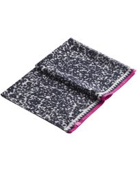 Joules - Wensley Winter Ditsy Print Scarf - Lyst