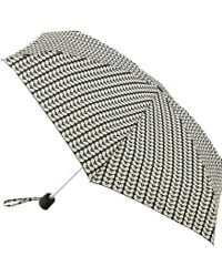Orla Kiely - Tiny Bi-colour Stem Umbrella - Lyst