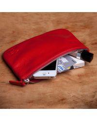 Reddog - Leather Pouch Bag - Lyst