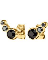 Dyrberg/Kern - Lini Coloured Swarovski Small Stud Earrings - Lyst
