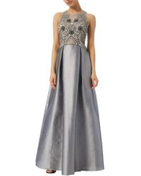 Adrianna Papell - Iridescent Bead Gown - Lyst