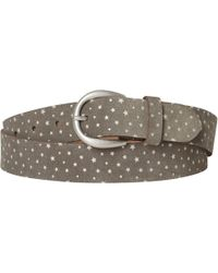 White Stuff - Star Print Suede Belt - Lyst