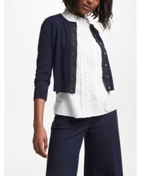 Boden - Amelia Cropped Cardigan - Lyst