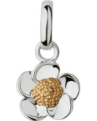 Links of London - 18ct Gold Vermeil Buttercup Charm - Lyst