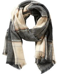 Betty & Co. - Long Check Scarf - Lyst