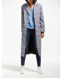 Levi's - Frida Check Coat - Lyst